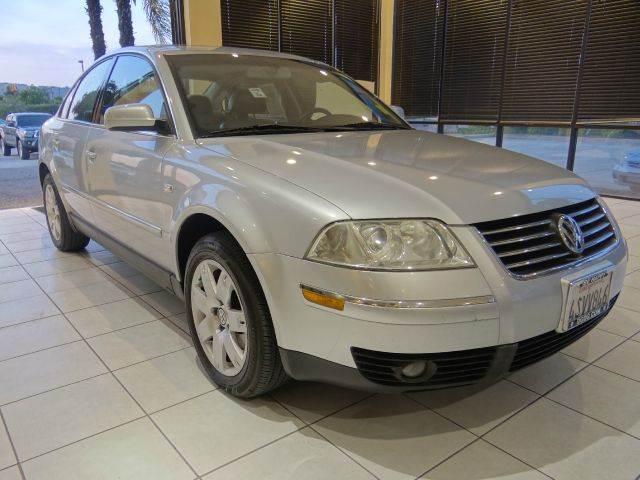 2001 VOLKSWAGEN PASSAT GLX V6 AWD NEW 4MOTION 4DR SEDAN silver abs - 4-wheel anti-theft system -