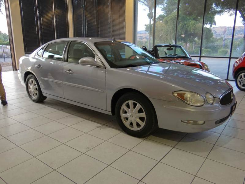 2005 BUICK LACROSSE CXL 4DR SEDAN blue airbag deactivation - occupant sensing passenger anti-the