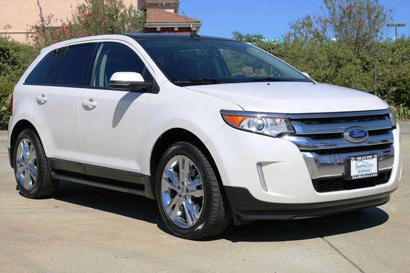 2013 FORD EDGE SEL 4DR SUV white 2-stage unlocking doors abs - 4-wheel air filtration airbag de