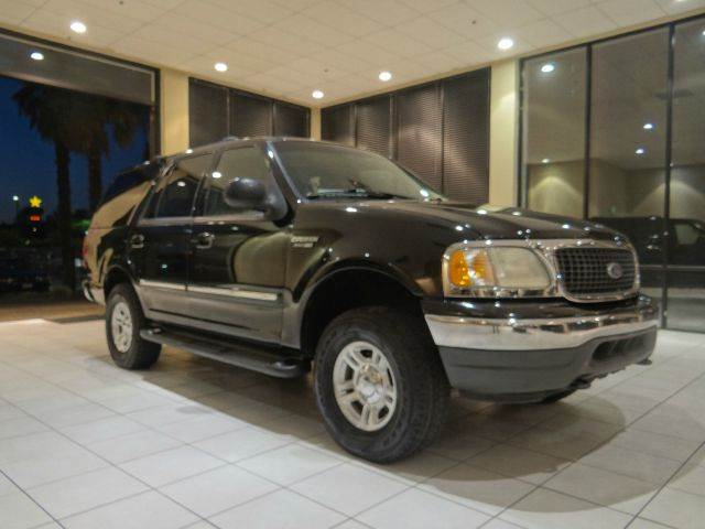2000 FORD EXPEDITION XLT 4DR 4WD SUV black abs - 4-wheel adjustable pedals - power axle ratio -