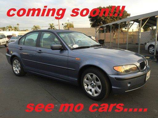 2005 BMW 3 SERIES 325I 4DR SEDAN blue abs - 4-wheel center console - front console with storage