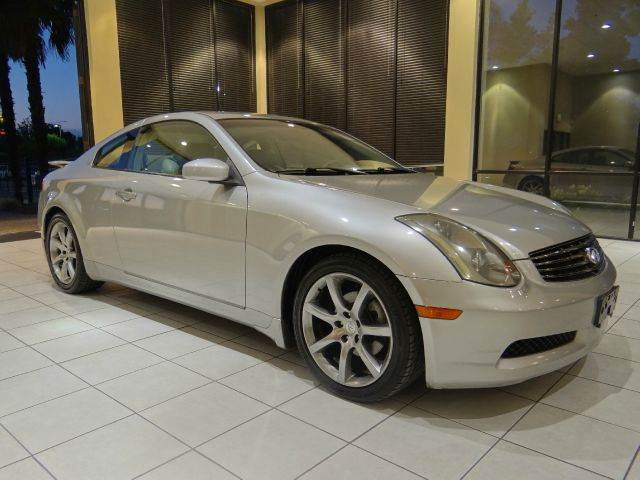 2003 INFINITI G35 BASE 2DR COUPE WLEATHER gold abs - 4-wheel anti-theft system - alarm cd chan