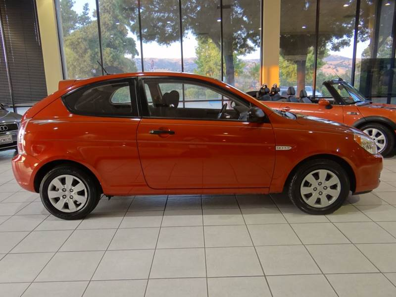2008 HYUNDAI ACCENT GS 2DR HATCHBACK 4A red air filtration airbag deactivation - occupant sensin