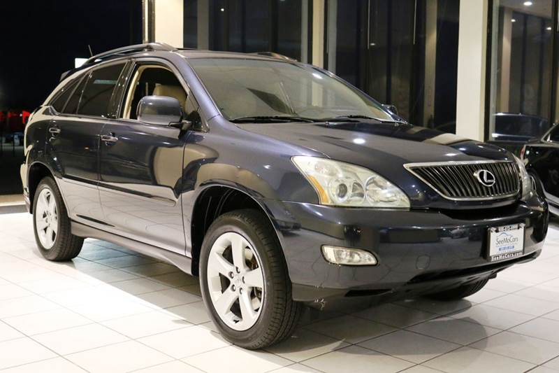 2004 LEXUS RX 330 BASE 4DR SUV blue abs - 4-wheel anti-theft system - alarm cd changer center