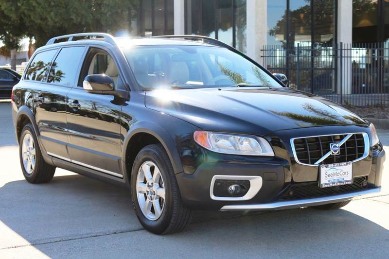 2008 VOLVO XC70 32 AWD 4DR WAGON black 2-stage unlocking doors 4wd type - full time abs - 4-wh