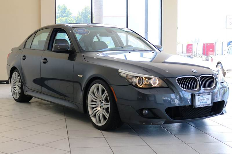 2008 BMW 5 SERIES 550I 4DR SEDAN LUXURY gray abs - 4-wheel active head restraints - dual front