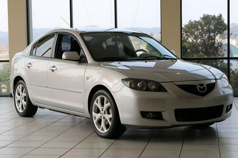 2009 MAZDA MAZDA3 I TOURING VALUE 4DR SEDAN 4A silver 2-stage unlocking doors abs - 4-wheel act