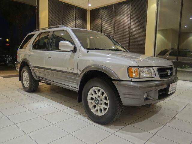 2002 HONDA PASSPORT EX 2WD 4DR SUV silver abs - 4-wheel anti-theft system - alarm axle ratio -
