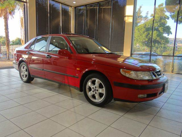 1999 SAAB 9-5 SE 23T 4DR TURBO SEDAN red abs - 4-wheel anti-theft system - alarm cassette cen