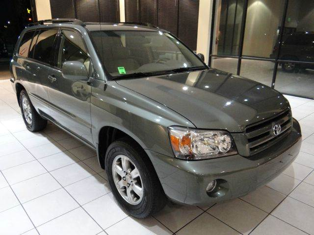 2004 TOYOTA HIGHLANDER UNSPECIFIED green 162040 miles VIN JTEDP21A840043177