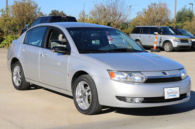 2004 SATURN ION 3 4DR SEDAN silver 5-speed automatic transmission anti-theft system - alarm cen