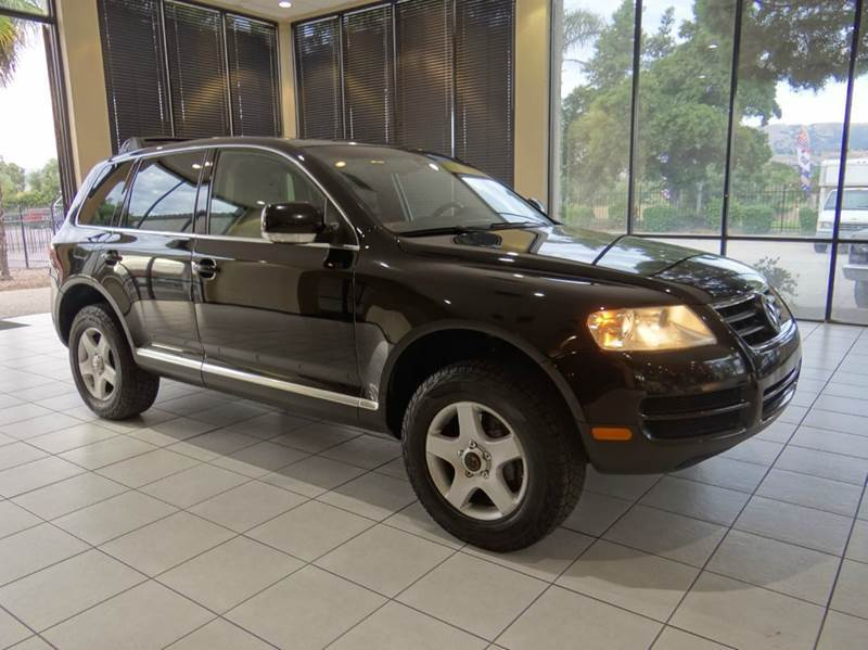 2004 VOLKSWAGEN TOUAREG V6 AWD 4DR SUV black abs - 4-wheel anti-theft system - alarm center con
