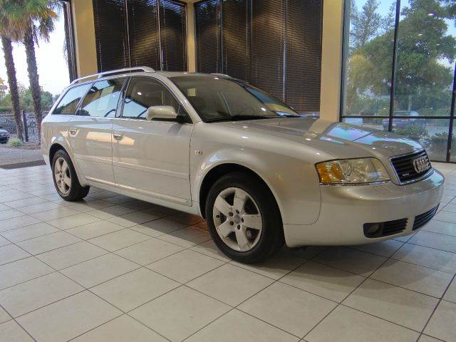 2004 AUDI A6 30 AVANT QUATTRO AWD 4DR WAGON silver abs - 4-wheel anti-theft system - alarm cd