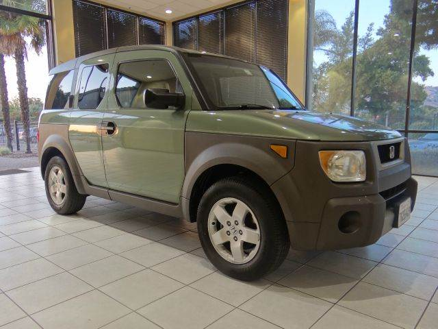2003 HONDA ELEMENT EX 4DR SUV green abs - 4-wheel clock cruise control exterior entry lights