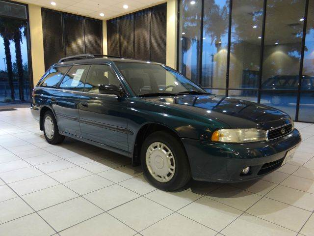 1997 SUBARU LEGACY L AWD 4DR WAGON green abs - 4-wheel cassette cruise control exterior mirror