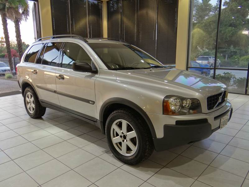 2004 VOLVO XC90 25T AWD 4DR TURBO SUV silver abs - 4-wheel anti-theft system - alarm center co