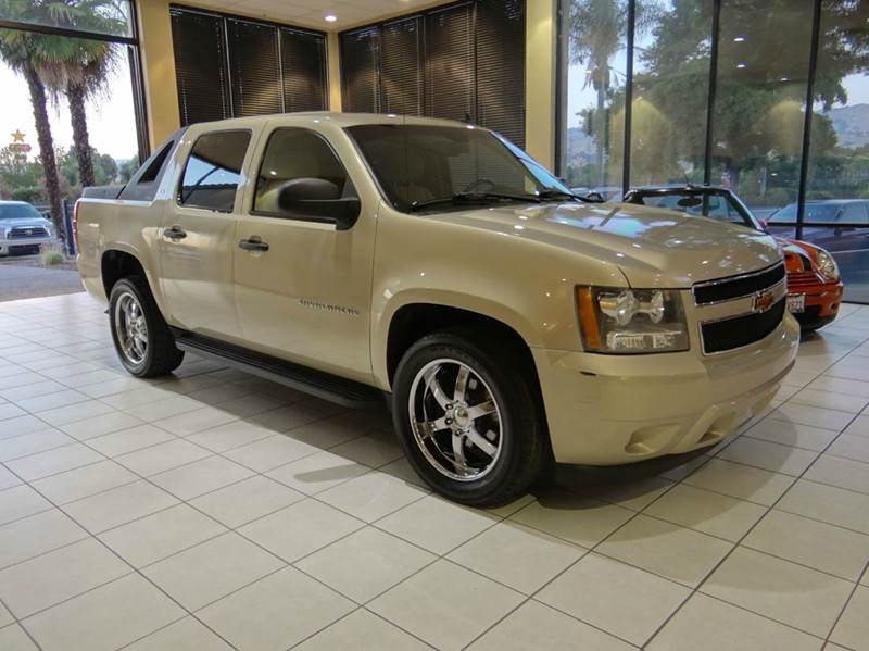 2007 CHEVROLET AVALANCHE LS 1500 4DR CREW CAB SB gold 2-stage unlocking - remote abs - 4-wheel