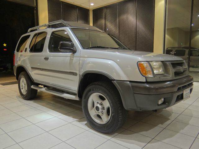 2001 NISSAN XTERRA SE 4WD 4DR SUV 33L V6 silver abs - 4-wheel anti-theft system - alarm axle