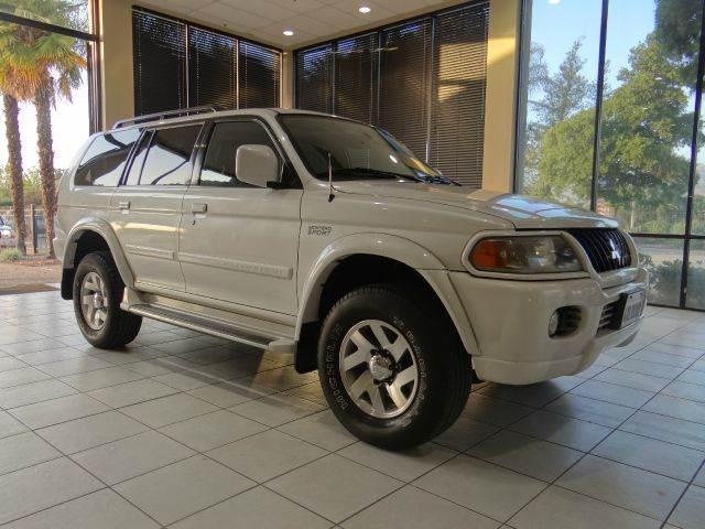 2002 MITSUBISHI MONTERO SPORT LTD 2WD 4DR SUV white abs - 4-wheel antenna type - power anti-the