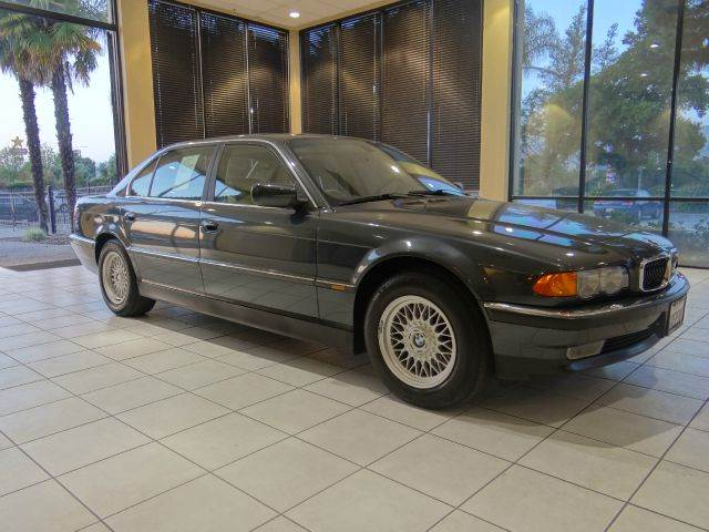 2000 BMW 7 SERIES 740IL 4DR SEDAN green abs - 4-wheel anti-theft system - alarm cassette cd ch