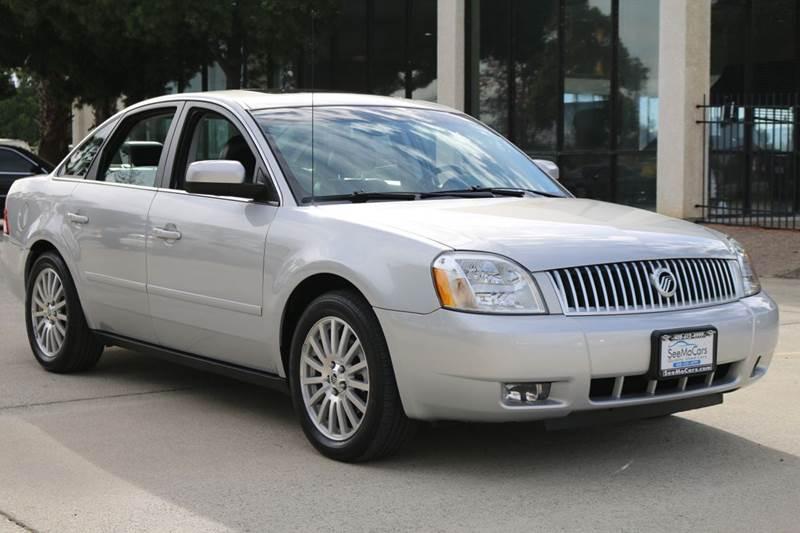 2005 MERCURY MONTEGO PREMIER AWD 4DR SEDAN silver abs - 4-wheel adjustable pedals - power cente