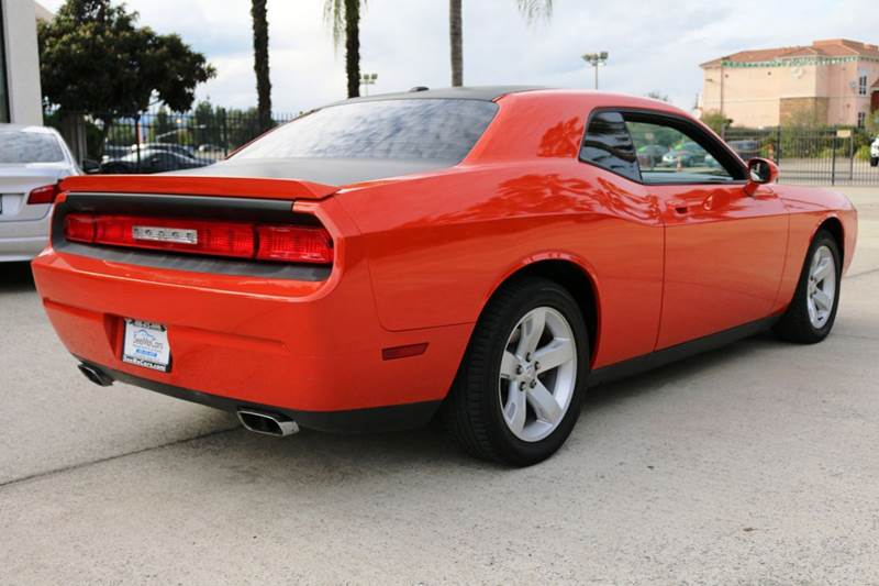 2010 DODGE CHALLENGER RT 2DR COUPE orange abs - 4-wheel airbag deactivation - occupant sensing