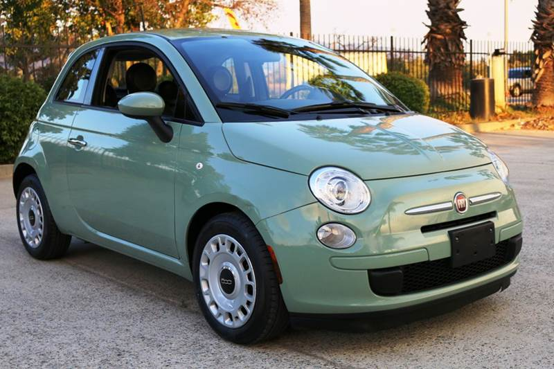 2015 FIAT 500 POP 2DR HATCHBACK green this 2015 fiat 500 is a super fun 5 speed manual car that i