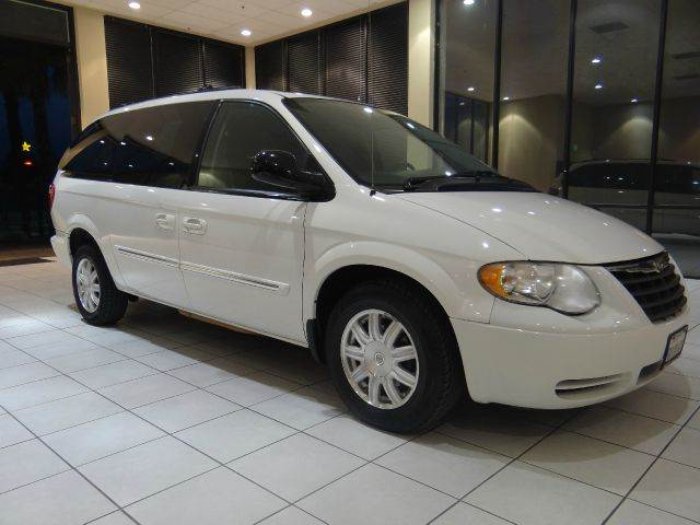 2005 CHRYSLER TOWN AND COUNTRY TOURING 4DR EXT MINIVAN white abs - 4-wheel cassette center cons