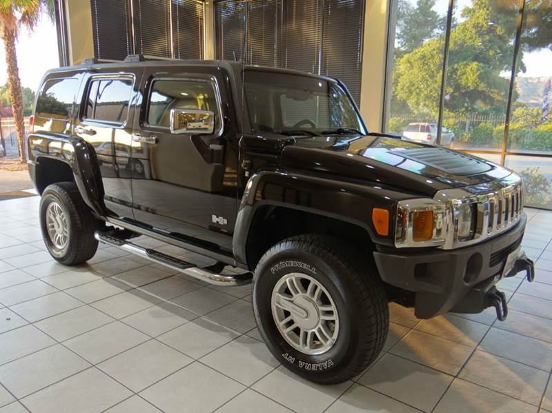 2007 HUMMER H3 H3X 4DR SUV 4WD black 2-stage unlocking - remote 4wd type - full time abs - 4-wh