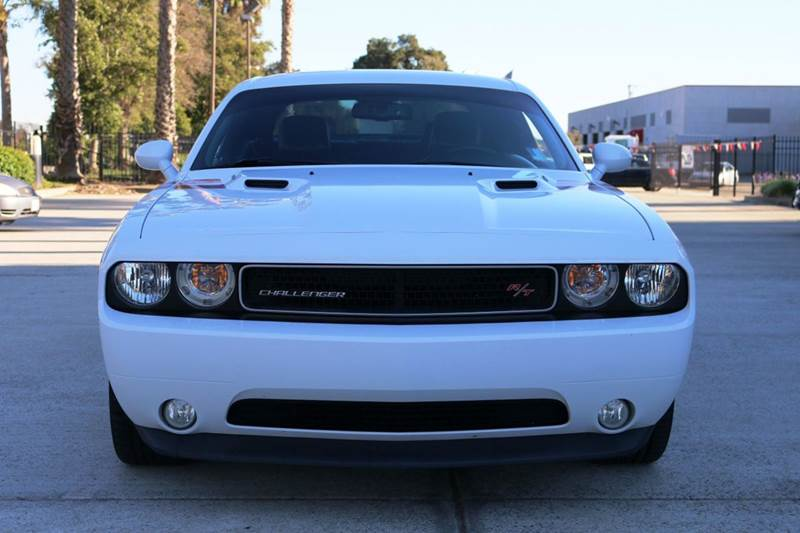 2012 DODGE CHALLENGER RT PLUS 2DR COUPE white 2-stage unlocking doors abs - 4-wheel active head