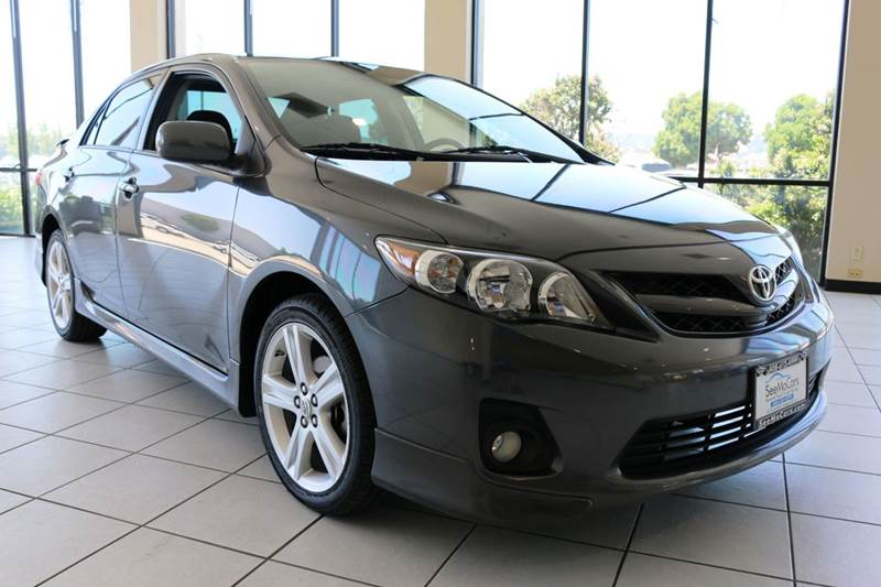 2013 TOYOTA COROLLA S SPECIAL EDITION 4DR SEDAN gray wow must see this 2013 toyota corolla s spe