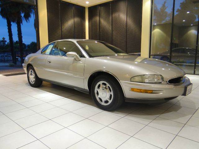 1997 BUICK RIVIERA SUPERCHARGED 2DR COUPE gray abs - 4-wheel air suspension - rear antenna type