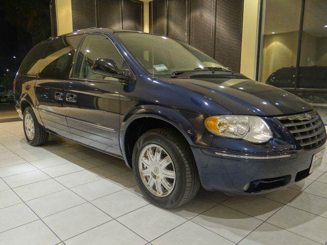 2005 CHRYSLER TOWN AND COUNTRY LIMITED 4DR EXT MINIVAN blue abs - 4-wheel adjustable pedals - po