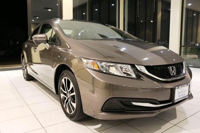 2015 HONDA CIVIC EX 4DR SEDAN brown this 2015 honda civic ex sedan is in pristine condition with