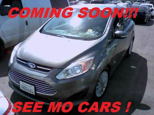2014 FORD C-MAX HYBRID SE 4DR WAGON gray 2-stage unlocking doors abs - 4-wheel active grille shu