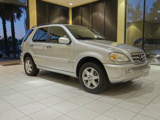 2003 MERCEDES-BENZ M-CLASS ML500 AWD 4MATIC 4DR SUV silver abs - 4-wheel anti-theft system - ala