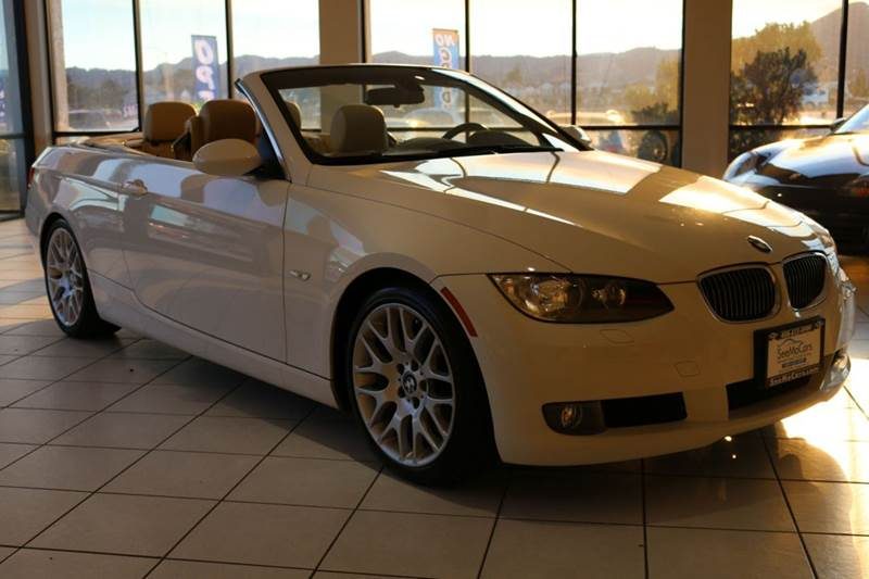 2008 BMW 3 SERIES 328I 2DR CONVERTIBLE SULEV white 2-stage unlocking doors abs - 4-wheel air fi
