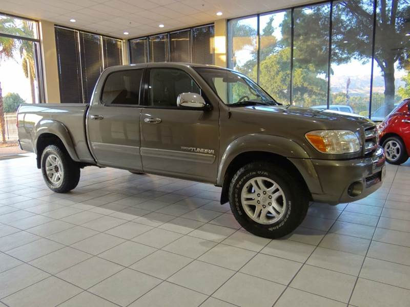 2006 TOYOTA TUNDRA SR5 4DR DOUBLE CAB SB 47L V8 5 gray abs - 4-wheel antenna type auxiliary t