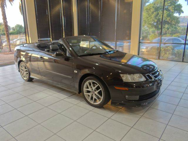 2004 SAAB 9-3 AERO 2DR CONVERTIBLE expresso abs - 4-wheel anti-theft system - alarm center cons