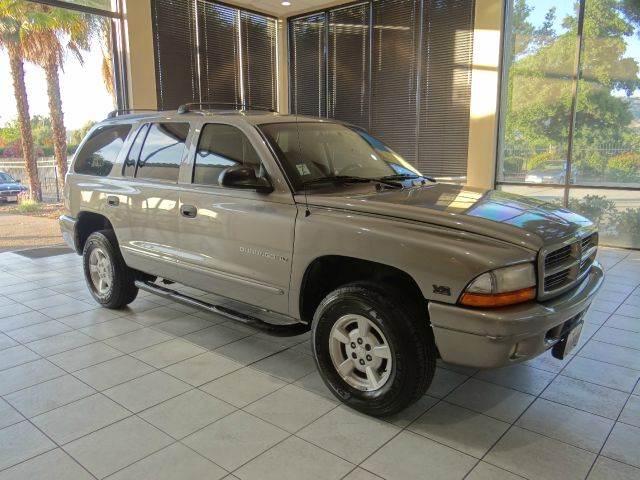 2001 DODGE DURANGO SLT 4WD 4DR SUV gray abs - rear axle ratio - 355 cassette center console