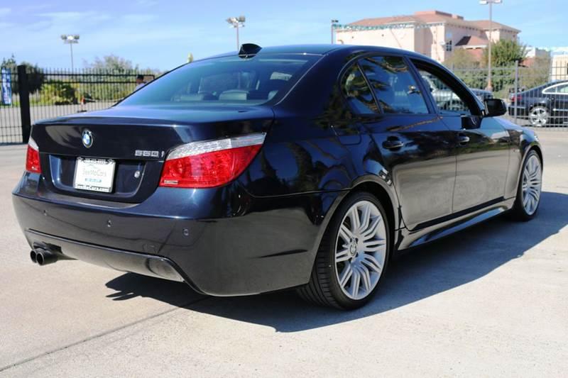 2008 BMW 5 SERIES 550I 4DR SEDAN LUXURY blue abs - 4-wheel active head restraints - dual front