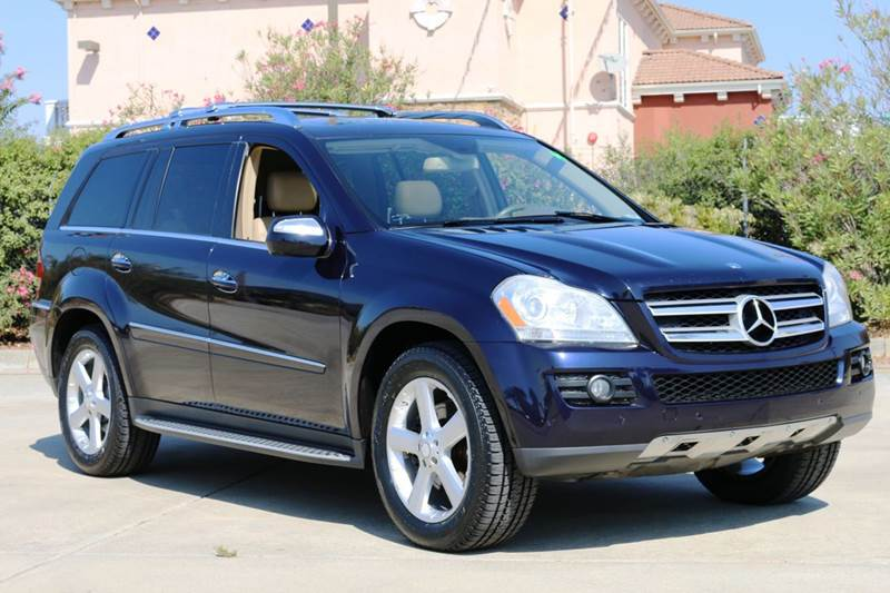 2009 MERCEDES-BENZ GL-CLASS GL450 4MATIC AWD 4DR SUV blue 2-stage unlocking doors 3rd row moonroo