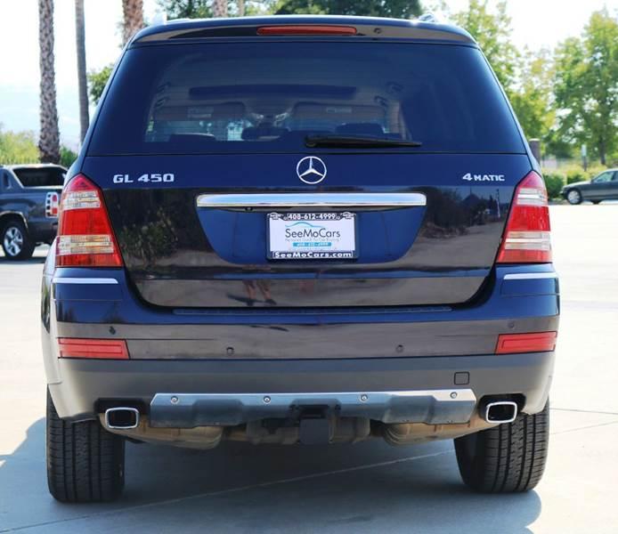 2009 MERCEDES-BENZ GL-CLASS GL450 4MATIC AWD 4DR SUV blue 2-stage unlocking doors 3rd row moonroo