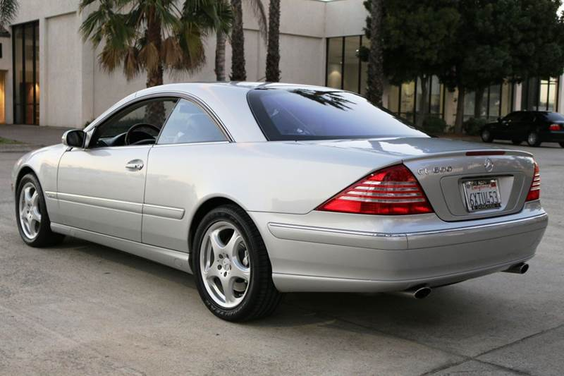 2005 MERCEDES-BENZ CL-CLASS CL600 2DR COUPE silver abs - 4-wheel anti-theft system - alarm cent
