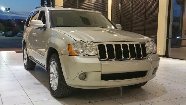 2008 JEEP GRAND CHEROKEE LIMITED 4X4 SUV unspecified 2-stage unlocking - remote 4wd type - full