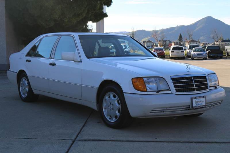 1994 MERCEDES-BENZ S-CLASS S 420 4DR SEDAN white abs - 4-wheel antenna type - power anti-theft