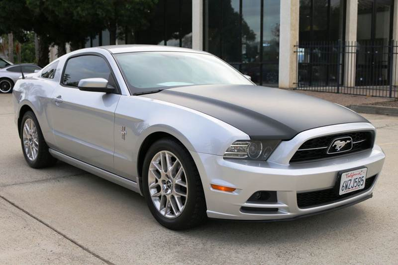 2013 FORD MUSTANG V6 PREMIUM 2DR COUPE 2-stage unlocking doors abs - 4-wheel air filtration air