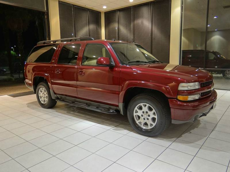2004 CHEVROLET SUBURBAN 1500 Z71 4WD 4DR SUV maroon abs - 4-wheel anti-theft system - alarm axl