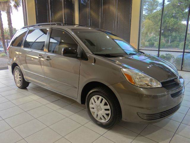 2005 TOYOTA SIENNA LE 7 PASSENGER 4DR MINIVAN gray abs - 4-wheel cassette clock cruise control