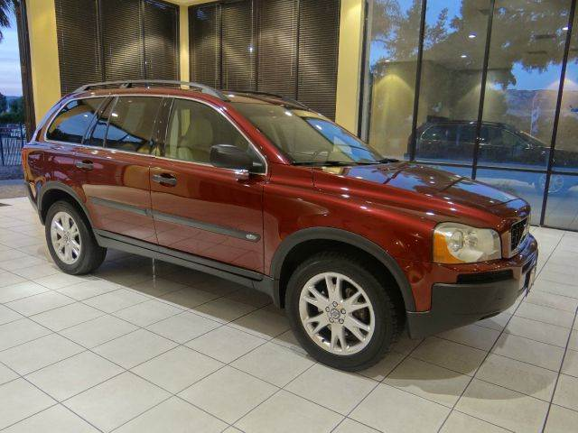 2005 VOLVO XC90 T6 AWD 4DR SUV maroon abs - 4-wheel anti-theft system - alarm cd changer cente